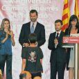 Letizia et Felipe d'Espagne à Figueras en Espagne le 10 décembre pour une convention avec les professionnels du pays