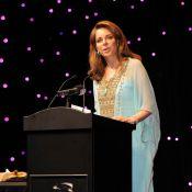La reine Noor de Jordanie, magnifique pour faire rayonner le festival de Dubaï !