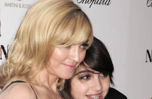 Quand Lourdes, super lookée, vole la vedette à Madonna... Goldie Hawn la vole aussi à sa fille Kate Hudson !