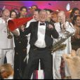Patrick Sébastien met l'ambiance pour la soirée diffusée pour le 31 décembre 2009