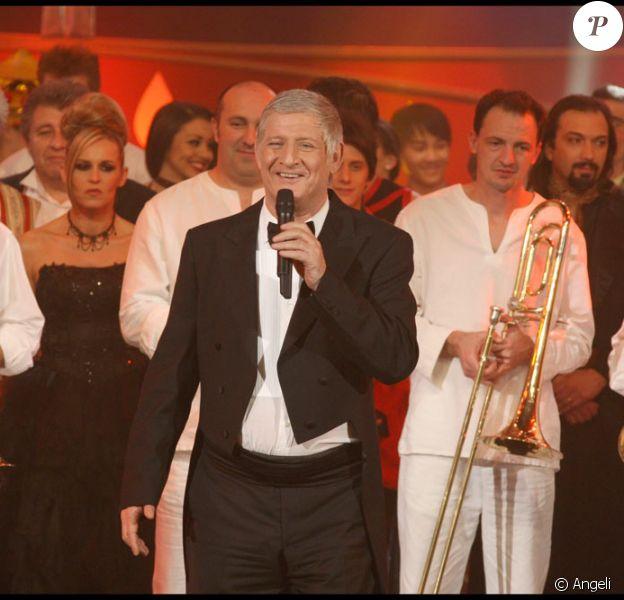 Patrick Sébastien à la soirée diffusée pour le 31 décembre 2009