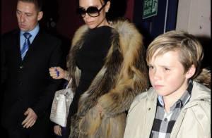 David et Victoria Beckham et leurs fils Romeo, Cruz et Brooklyn sont... de parfaites gravures de mode !