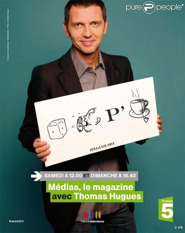Thomas Hugues présente MEDIAS, LE MAGAZINE