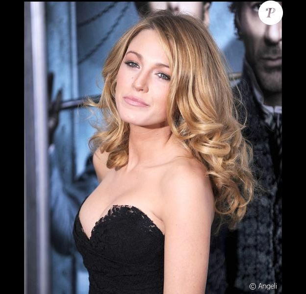 La belle actrice Blake Lively