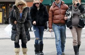 Kate Hudson : Avec sa mère et leur super copine, Melanie Griffith, elle passe une journée très... girly !