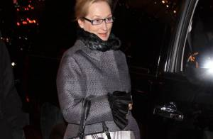 Les stars Meryl Streep et Steve Martin... tellement séduisantes et élégantes à New York !