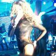 Beyonce lors du concert privé organisé par le joaillier David Morris à Saint Barthélémy le 31 décembre 2009