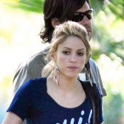 Shakira : Pause tendresse avec... son amoureux !