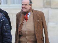 Frédéric Mitterrand, blessé mais souriant... a participé au premier conseil des ministres de l'année !