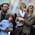 Ben Harper, Laura Dern et leurs enfants Ellery et Jaya