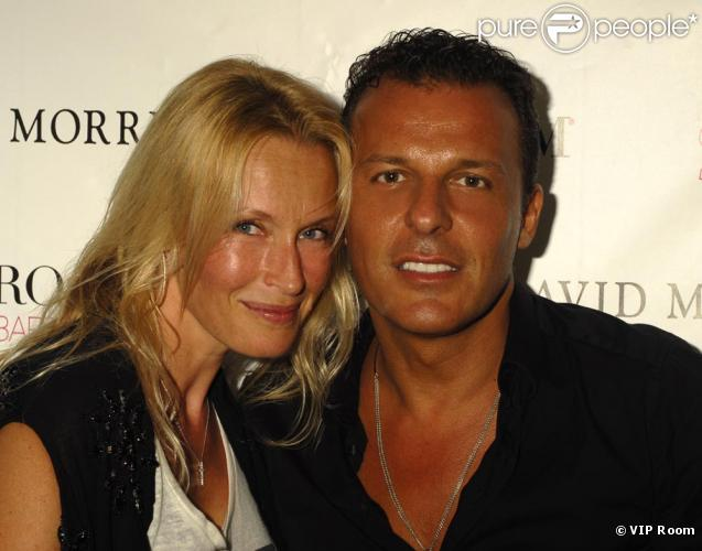 Estelle Lefebure couple