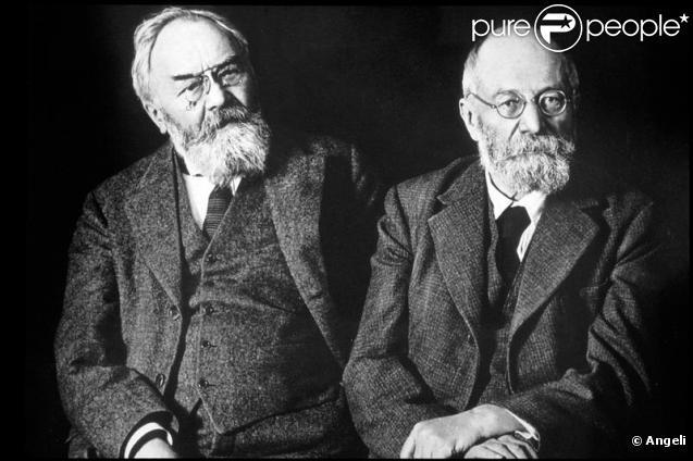 André et Edouard Michelin, les fondateurs