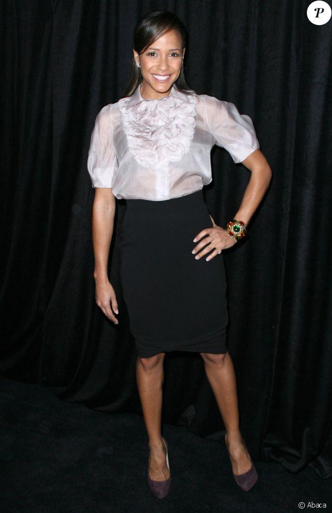 Dania Ramirez aux Annual Awards Season Diamond Fashion ...