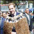Le Prince William poursuit sa visite officielle en Nouvelle-Zélande. 18/10/2010