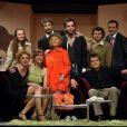 """Virginie Lemoine et toute son équipe à l'avant-première de """"Tout le plaisir est pour nous"""" (18 janvier, théâtre Rive Gauche à Paris)"""