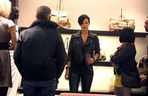 Rihanna et Kanye West s'offent une séance privée de shopping chez Ungaro...