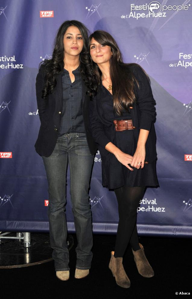 Laïla Bekhti lors de la cérémonie d'ouverture du Festival de l'Alpe D'Huez le 19 janvier 2010