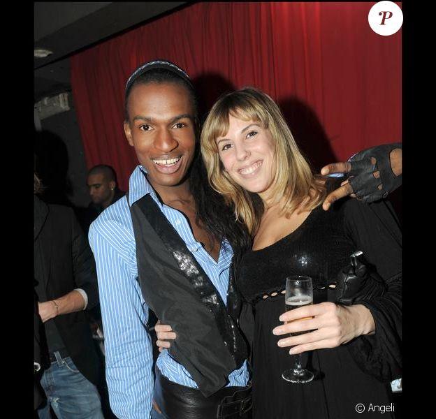 Marlène de Loft Story 2 et FX au défilé de Cindy de Secret Story 3 (21 janvier 2010)