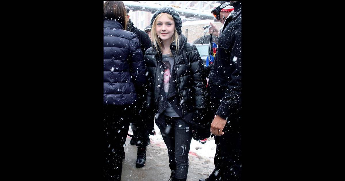 Dakota Fanning au Festival du Film de Sundance dans l'Utah ...