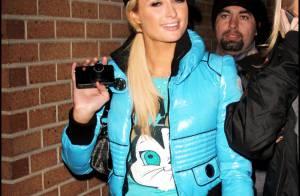 Paris Hilton et Kristen Stewart... C'est ensemble qu'elles bravent le froid !