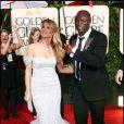 Heidi Klum et Seal aux Golden Globes.