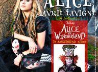 """Avril Lavigne : Découvrez son """"Alice"""" pour le film événement de Tim Burton, et les superbes premières images de son clip !"""
