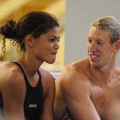 Alain Bernard et Coralie Balmy : Toujours plus amoureux et ensemble... même pour nager !