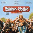 L'affiche d' Astérix et Obélix contre César.