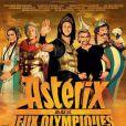 L'affiche d' Astérix et Obélix aux Jeux Olympiques.
