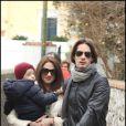 Asia Argento et son mari Michele Civetta avec leur fils Nicola