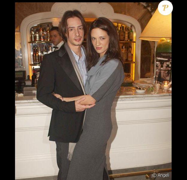 Asia Argento et son mari Michele Civetta