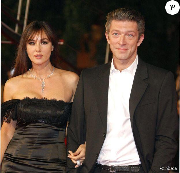 Vincent Cassel et sa femme Monica Bellucci