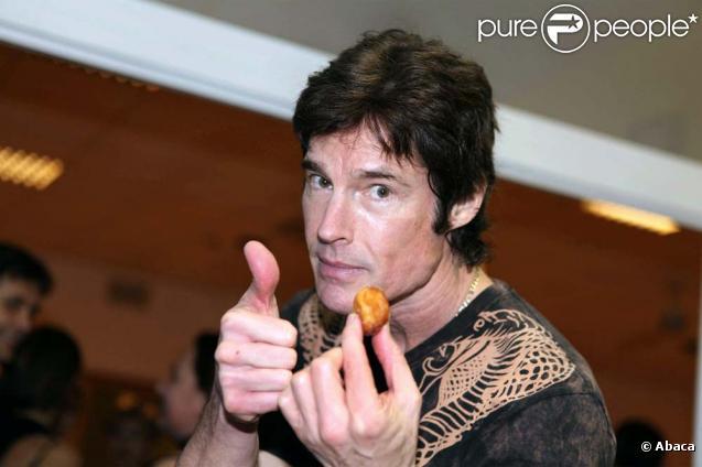 Ron Moss, alias Ridge Forester dans  Amour, Gloire et Beauté , répète pour l'émission  Dancing with the stars , à Rome, le 4 février 2010 !