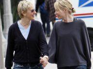 Ellen DeGeneres et Portia De Rossi : elles sont radieuses... même sans maquillage !
