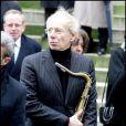 Jean-Marie Wilson aux obsèques de son papa George Wilson à l'Eglise Saint-Roch à Paris (8 février 2010)