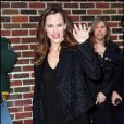 Jennifer Garner, ravissante à New York. 09/02/2010