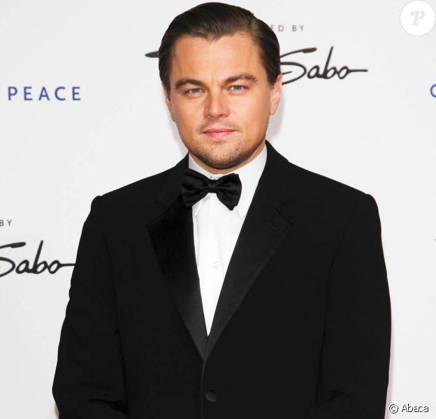 Leonardo DiCaprio à l'occasion de la grande soirée Cinema for Peace charity gala, qui s'est tenue dans la capitale allemande en pleine Berlinale, le 15 février 2010.