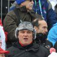 David Douillet, à l'occasion des J.O. de Vancouver, le 16 février 2010.