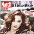 Marion Cotillard en couverture de Paris Match