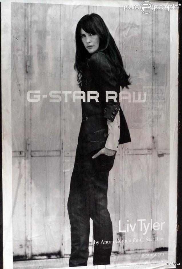 Liv Tyler sublime pour la campagne de pub G-Star Raw