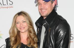Le bel Eric Dane et sa très enceinte Rebecca ont fait un joli coup de poker... devant une Teri Hatcher en forme !