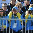 Carl Philip de Suède et ses parents le roi Carl XVI Gustaf et la reine Silvia, ont assisté au 15 km (mass start) en biathlon. Le Français Martin Fourcade a été médaillé d'argent.