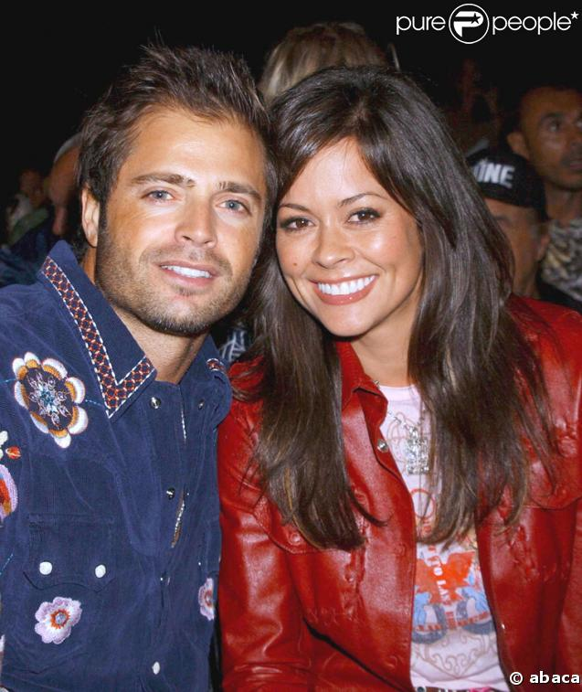 David Charvet et Brooke Burke