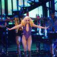 Lady Gaga en concert à Londres le 26 février 2010
