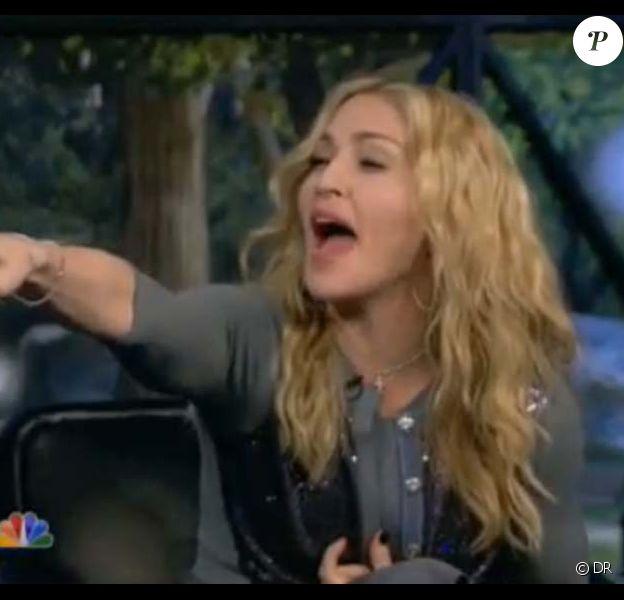 Madonna dans The Marriage Ref, mars 2010 !