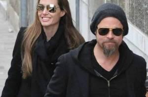 Angelina Jolie et Brad Pitt : Balade et pause gourmande avec les quatre aînés de leur tribu !