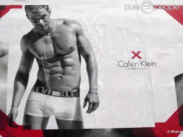 Publicité Calvin Klein avec Kellan Lutz et Fernando Verdasco
