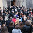Les obsèques de Patrick Topaloff le 11 mars 2010 à Paris en l'église orthodoxe de la rue Daru