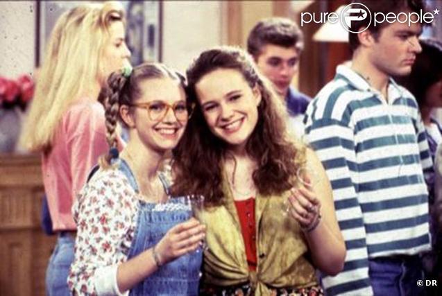 Justine et Annette, les deux héroïnes de Premiers Baisers ! De vraies stars !