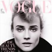 Diane Kruger : Transformée en divine garçonne par Karl Lagerfeld !